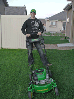 Jason and his Deere