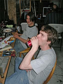 Drew and Adam
