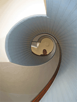 Inside the Point Loma Lighthouse