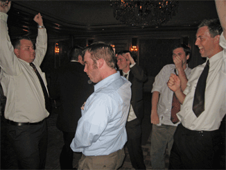 The Boys Getting Down