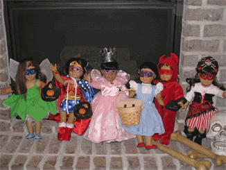 The Dolls in Costume