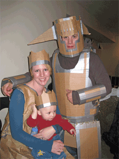 The Cardboard Colemans