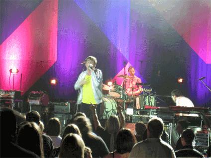 Keane's frontman Tom Chaplin