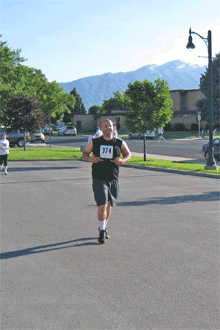 Jeremy ran this race with us. It was his first race ever. Way to go Jer!