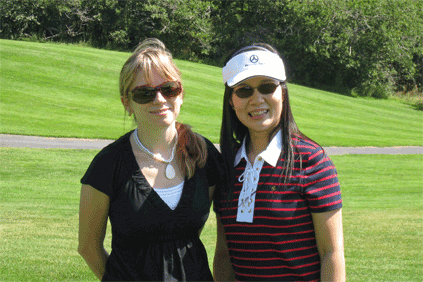 This is me and my friend Thao. She was on the photo crew with me.