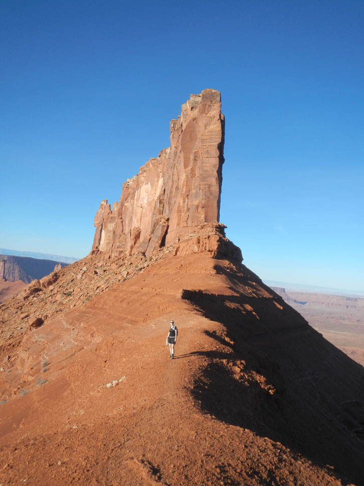 The hiking options around Moab are as numerous as the biking ones.