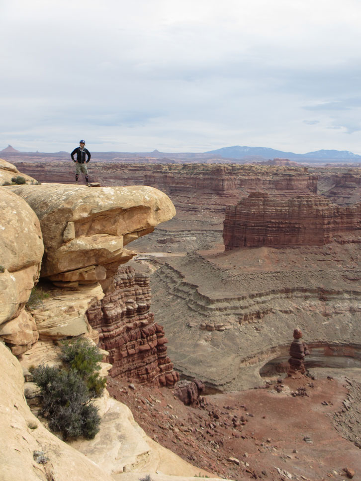 Canyonlands National Park is just a quick ride from Moab.
