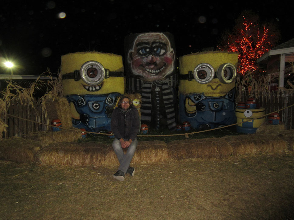 Cornbelly's had a Minion theme this year.