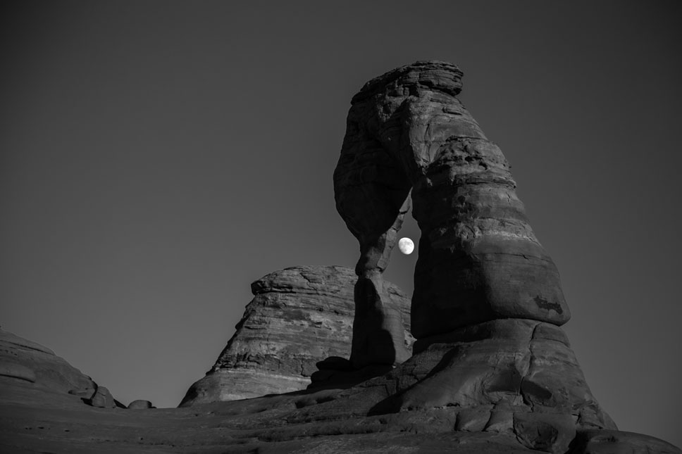 At least the photographing part of our Delicate Arch hike went as planned.