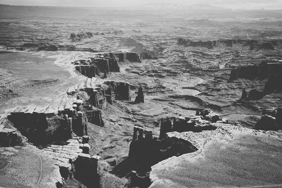 The magnitude of the White Rim was humbling, especially considering the thousands of years represented by each etch.