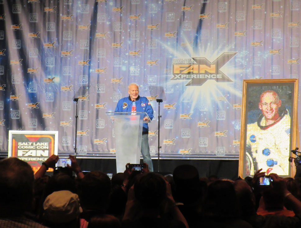 Hearing Buzz Aldrin speak was a privilege.
