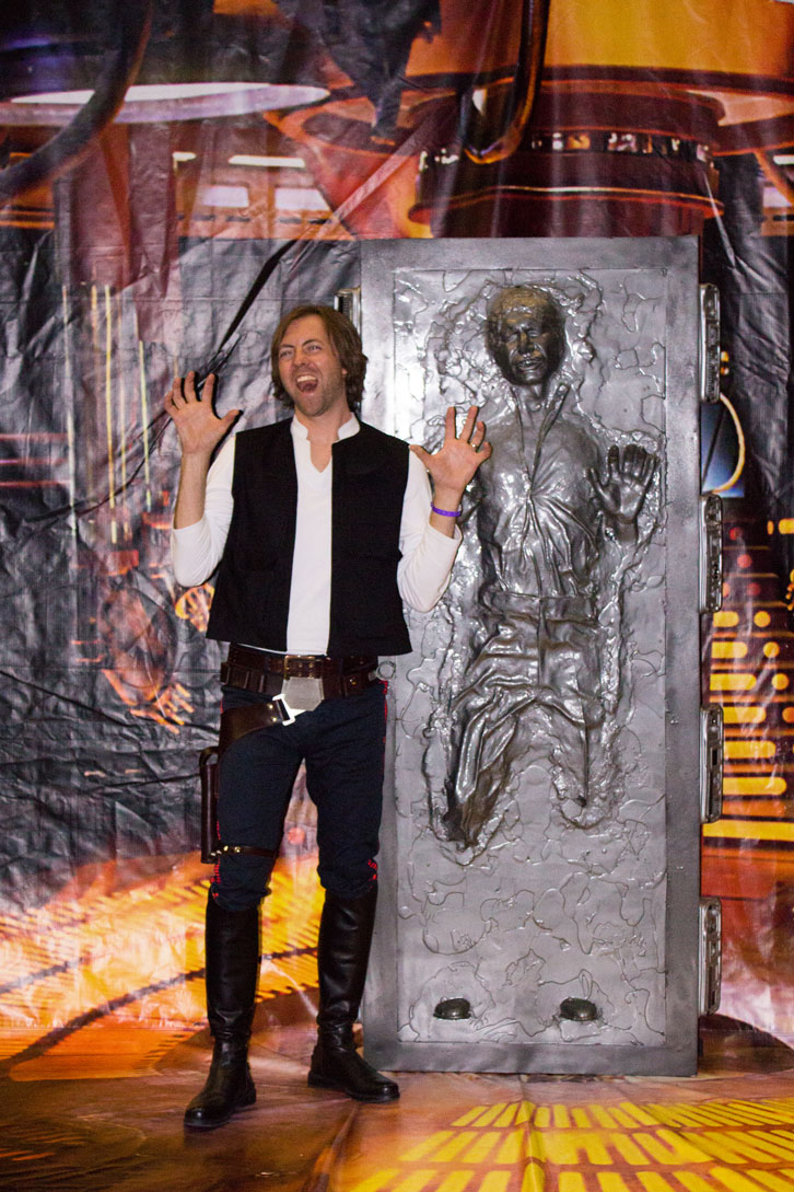 Carbonite. Why did it have to be carbonite?