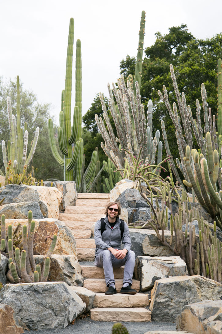 The Cactus Garden was one of my favorite spots at Lotusland. It features 500 plants from 300 species.