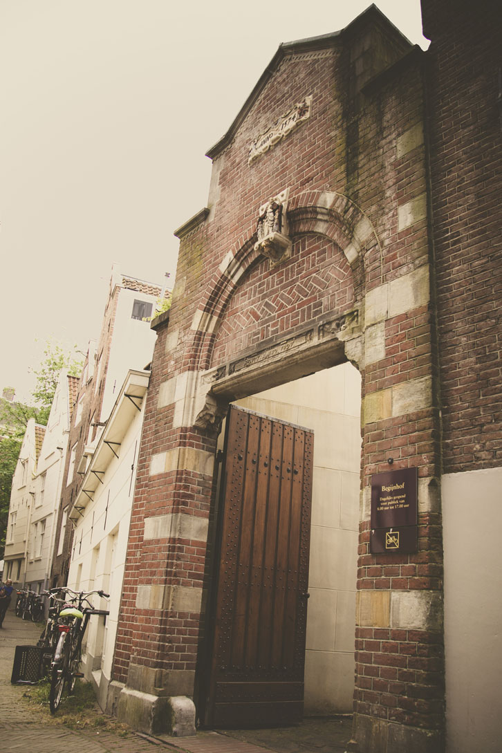 The Begijnhof's gates have been providing a sanctuary for single women since the 1300s.