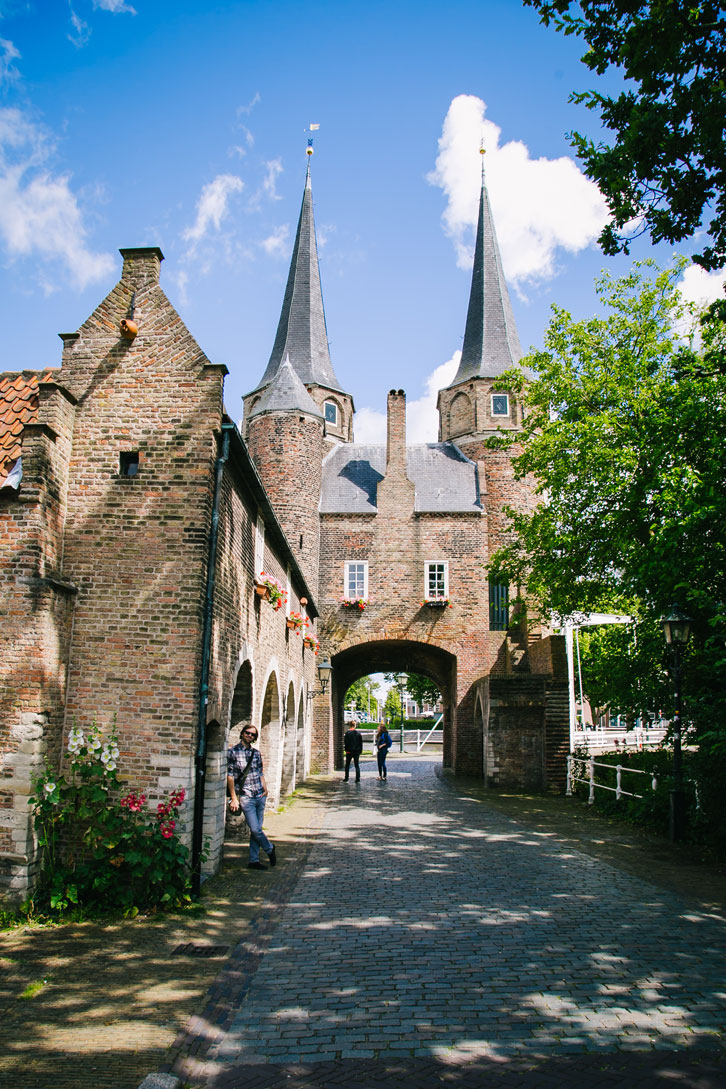 Delft's Eastern Gate was built around 1400.