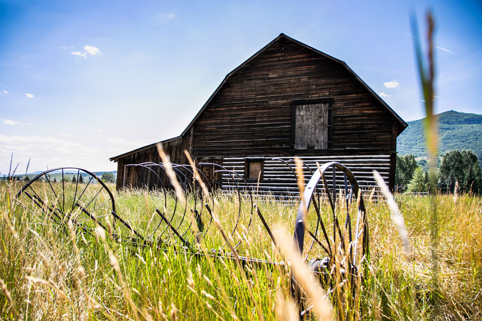 The More Barn was built in 1926 and has since become one of Steamboat's most photographed structures.