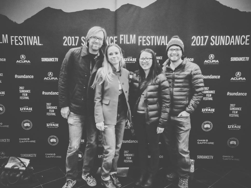 Along with fantastic films, part of the appeal of the Sundance Film Festival is hanging with friends.