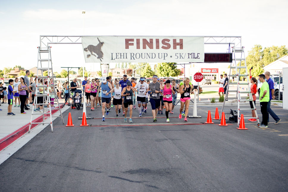 I'm not a competitive person, my only rival is myself, but I still appreciate the exhilaration of a starting line.