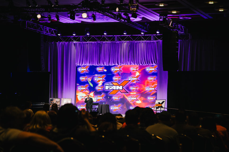 The largest room at FanX seats thousands and fills up regularly.