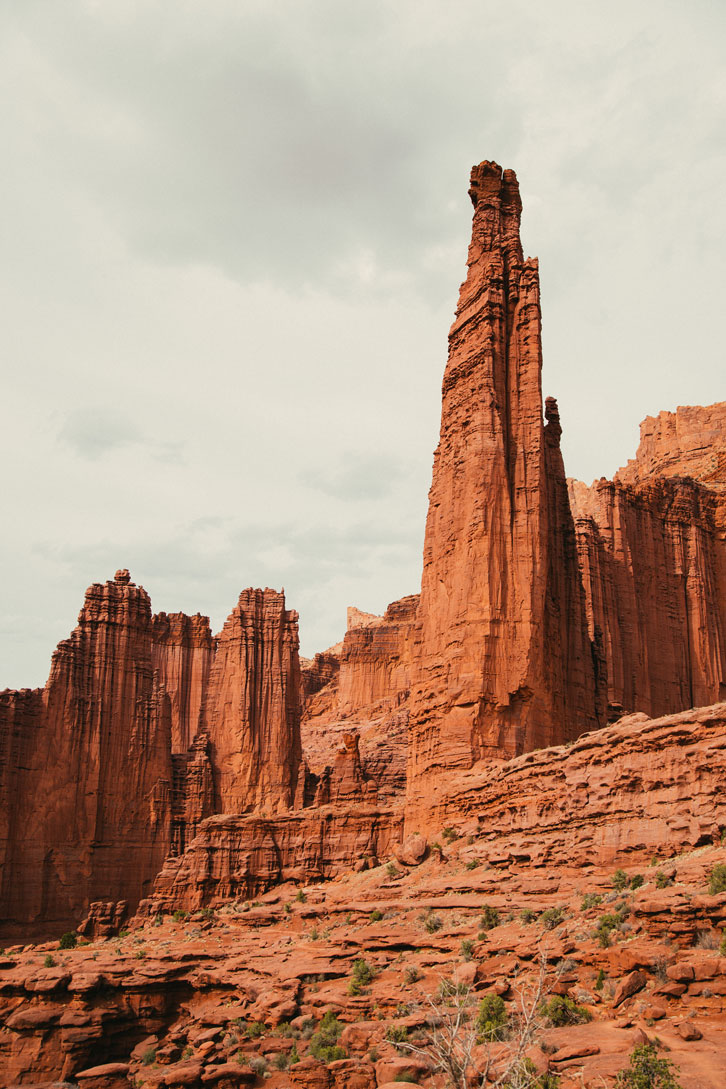 The Titan is Fisher's tallest tower and is believed to be the largest free-standing natural tower in the United States.