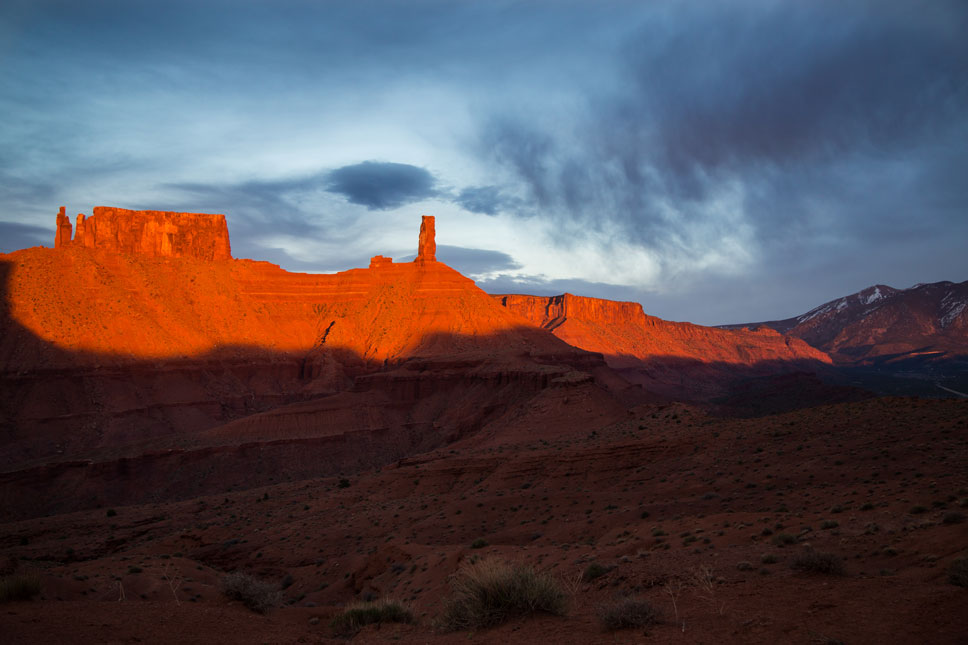 The sunsets in Moab are some of my favorites on the planet.
