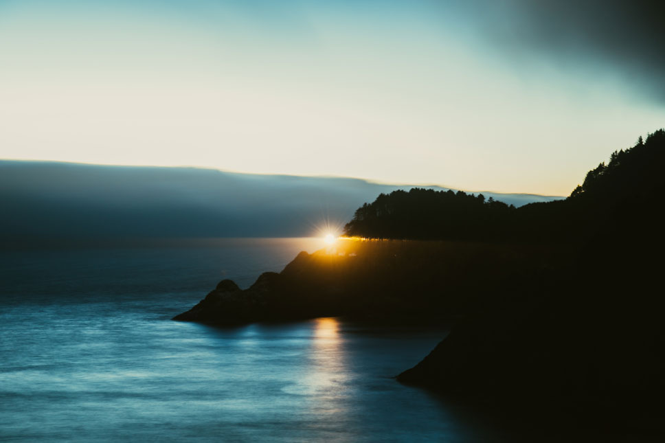Heceta Head's light is the strongest on the Oregon coast. It can be seen 21 miles from the shore.