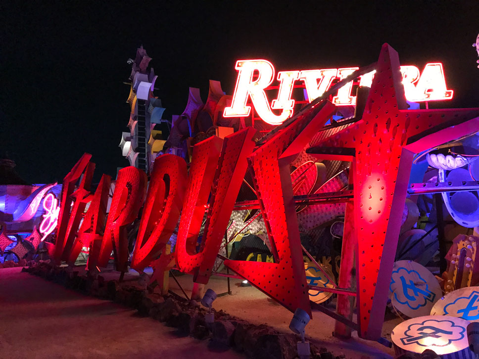 The Neon Museum's Boneyard contains the last remains of much of Vegas' glitzy past.