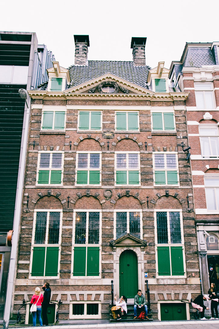 Rembrandt's house has been superbly restored.
