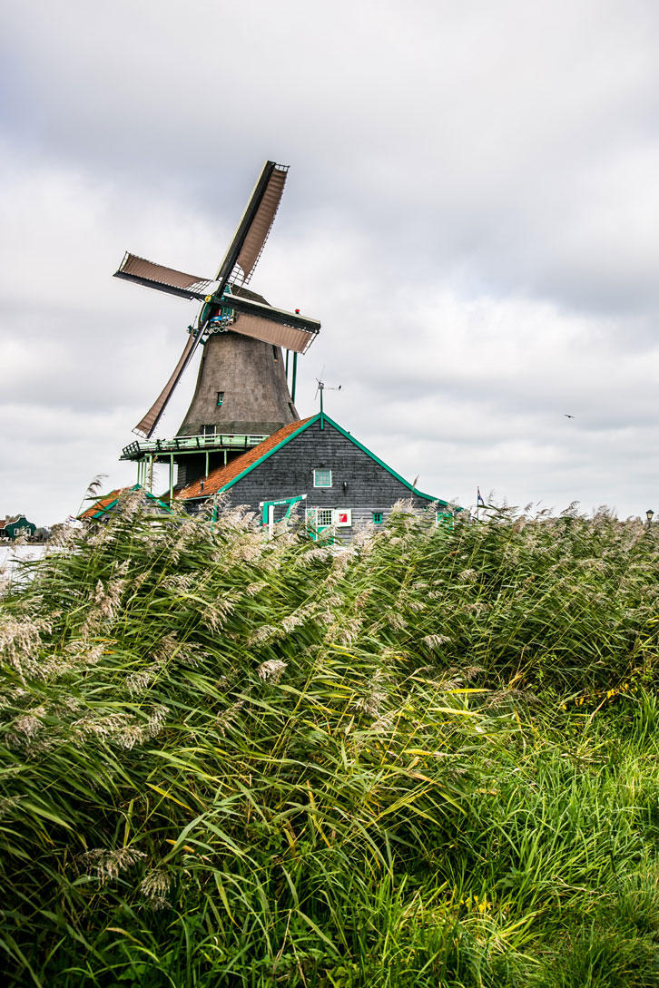 Zaanse Schans is an idyllically-preserved piece of Dutch countryside.