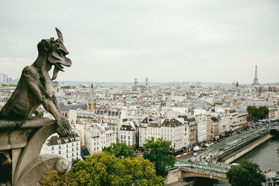 The creatures of Notre-Dame have been watching over Paris' boulevards for hundreds of years.