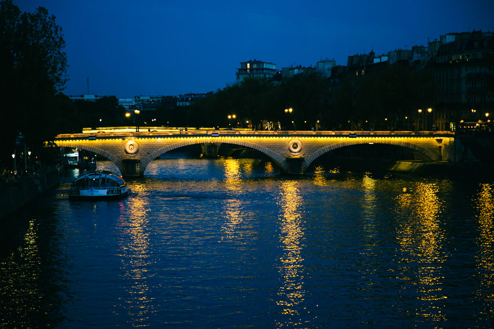 Like a life-giving artery, the Seine River flows through the heart of Paris.
