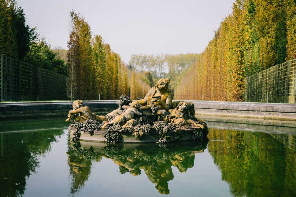 The fountains at Versailles still use centuries-old plumbing.
