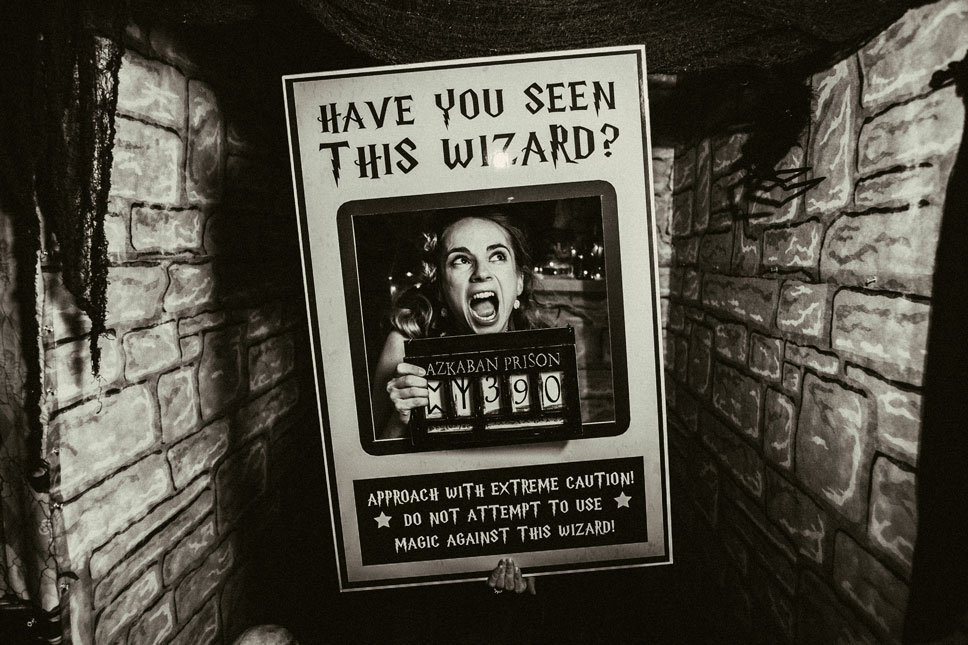 We created a selfie spot for Azkaban's most wanted.