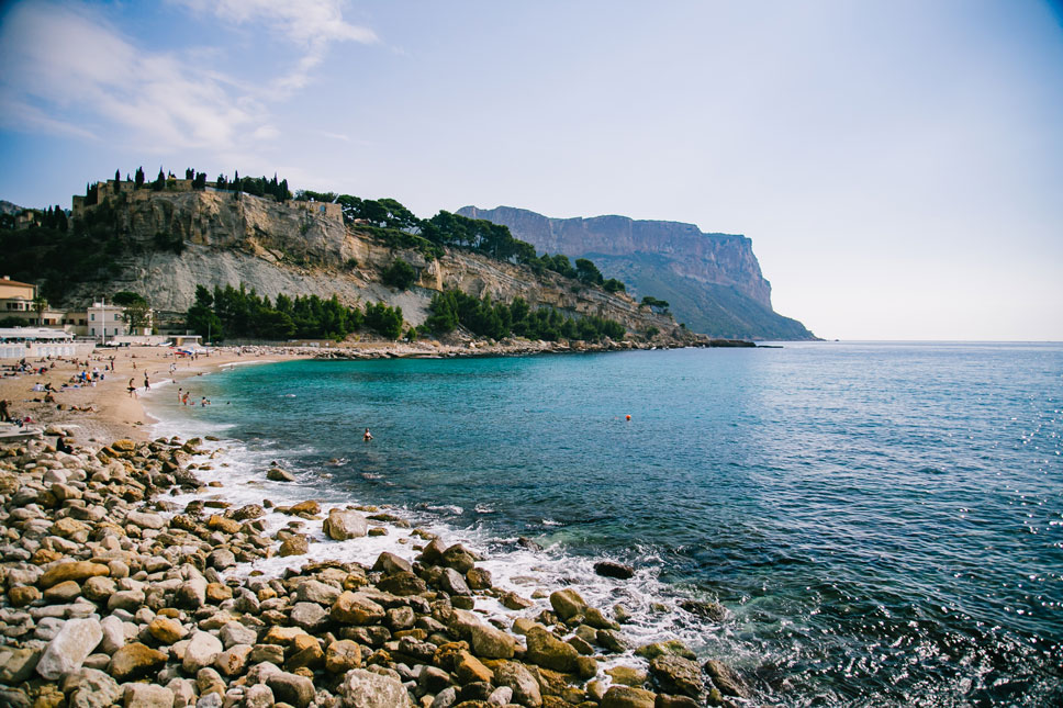 The Mediterranean Sea looked like a frothy sapphire.