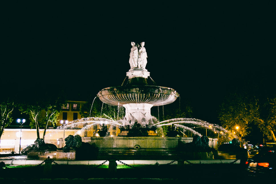 Aix-en-Provence is known as the City of a Thousand Fountains.