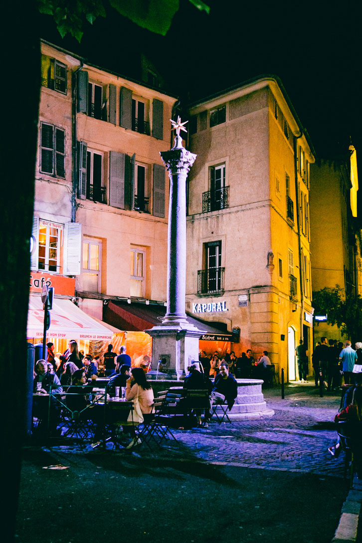 Every one of Aix-en-Provence's many fountains is unique.